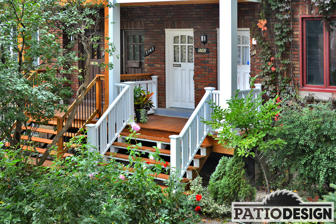 design, construction and installations of balconies or front-doors