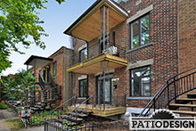 Patio and Balconies and Front Doors by Patio Design inc.