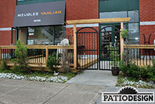 Patio for Businesses by Patio Design inc.
