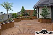Toit-terrasse par Patio Design inc.