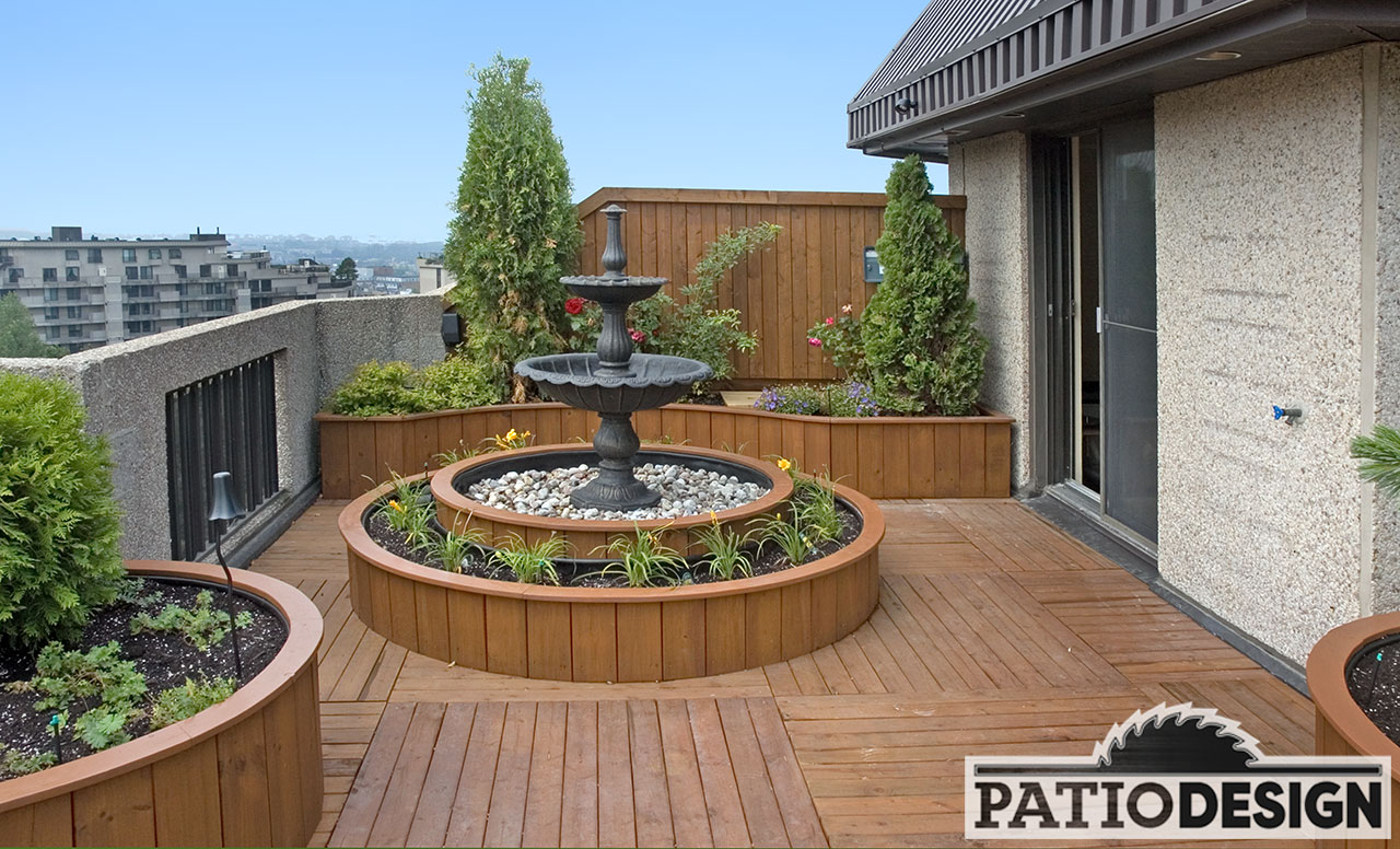 Patio Design Bois Traite Acq