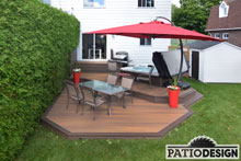 Patio avec SPA par Patio Design inc.