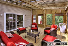 Patios en bois par Patio Design inc.