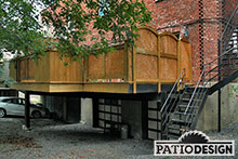 Structures d'acier par Patio Design inc.