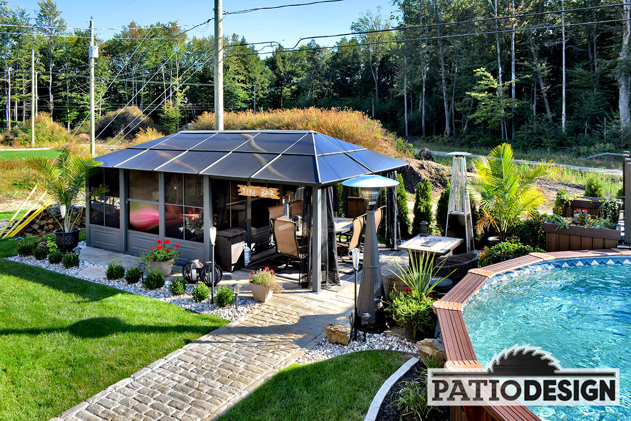 Gazbo De Patio Design With Terrasse Design.