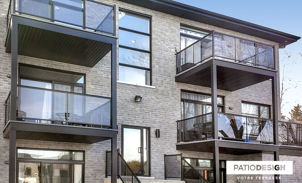 Patio Design - Construction & Design of balconies for front