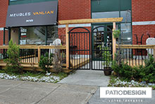 Patio pour Commerces par Patio Design inc.