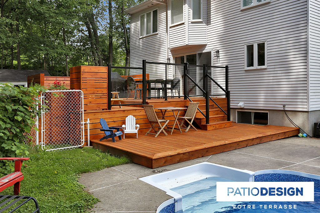 Patio Design Construction Design De Patios En Bois Traite