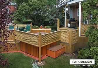 Patio Design Construction Design De Patios En Bois Traité