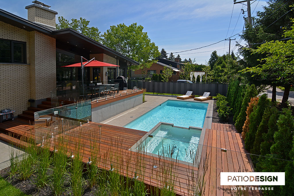 Patio Design - Construction & Design de patios pour une piscine