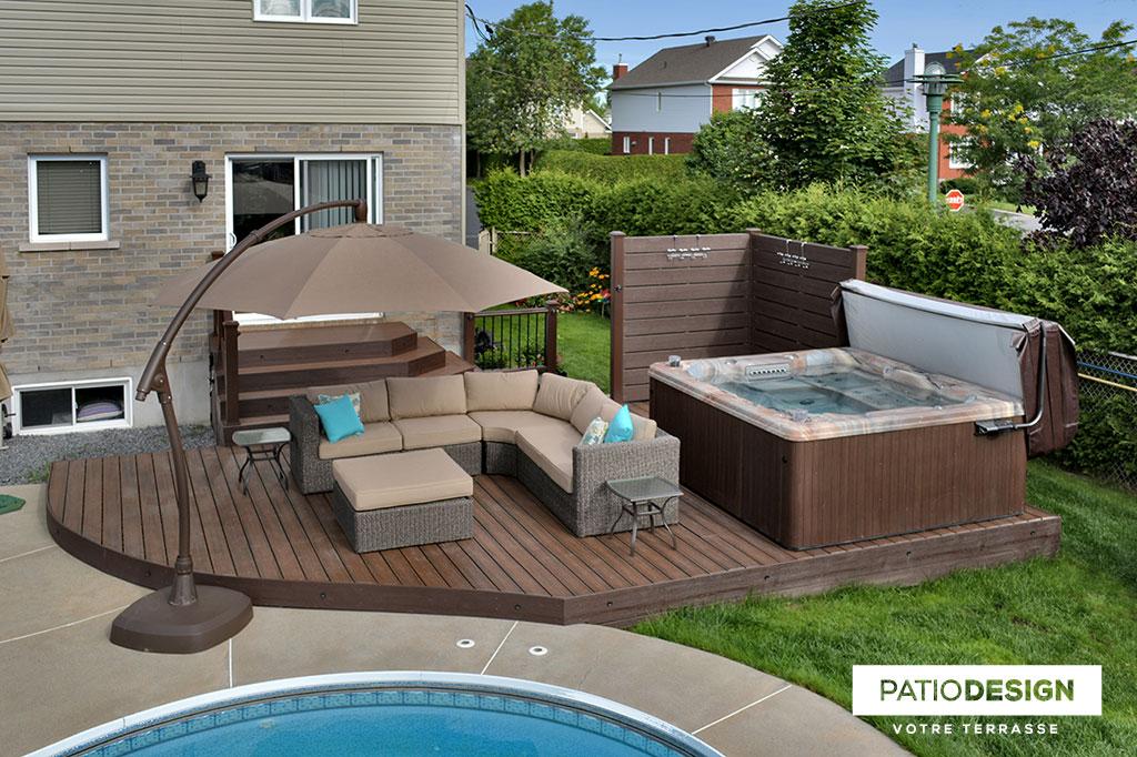 Patio Design - Construction & Design de patios pour un SPA