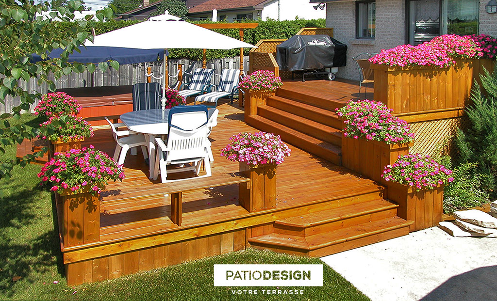 Patio Design Construction Design De Patios Pour Un Spa