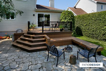Terrasse TimberTech par Patio Design inc.