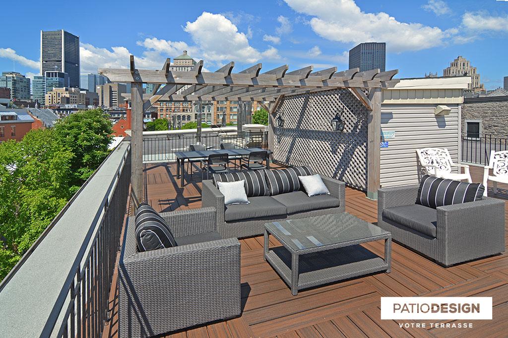 Patio Design - Construction & Design de patios sur le toit ...