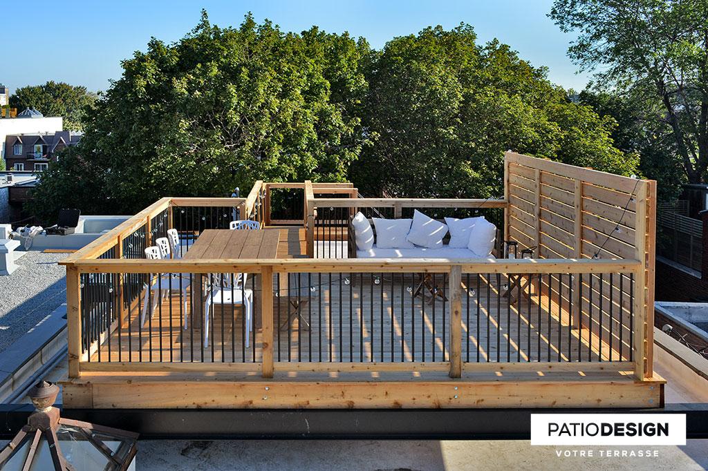 Patio Design Construction Design De Patios Sur Le Toit