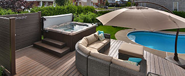 Patios avec Spa par Patio Design inc.